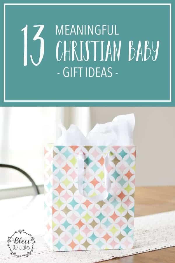 Christian Baby Gift Ideas