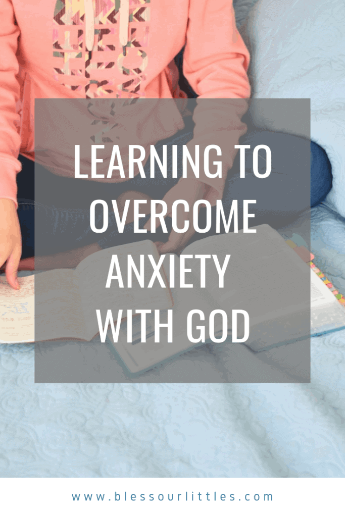 Learning to overcome anxiety with God - Christianity and worry