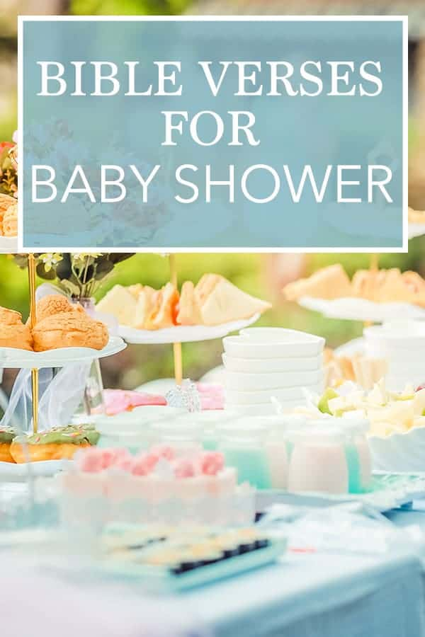 The best bible verses for christian baby shower - cards, decor, games, and more!