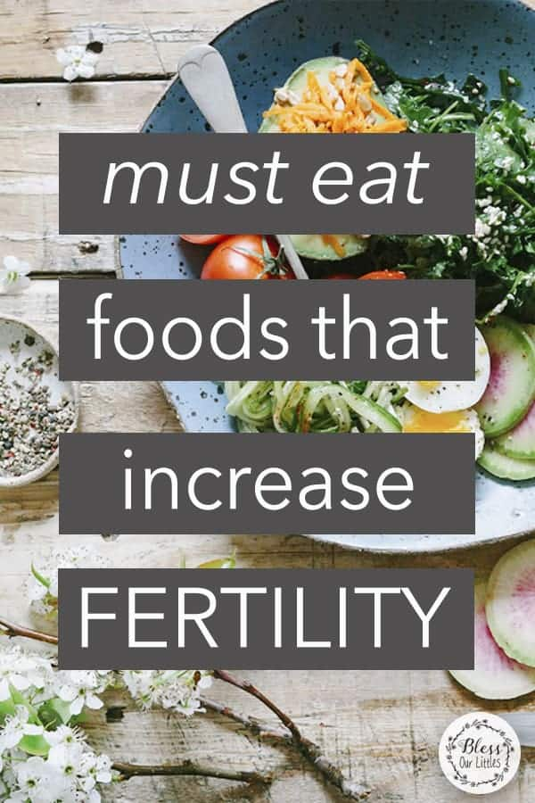The BEST Foods That Increase Fertility - And Will Help While Trying to Get Pregnant