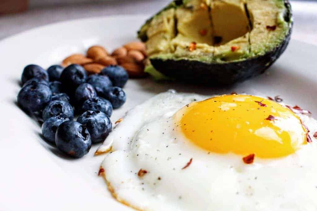 Eggs, avacado, and blueberries - Best foods that increase fertility