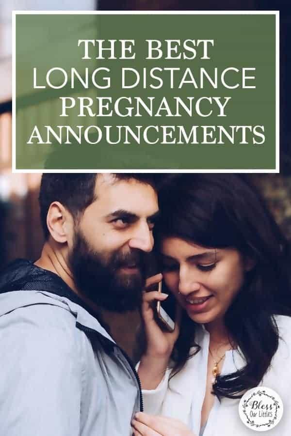 The Best long distance pregnancy announcement ideas - pinterest inspiration