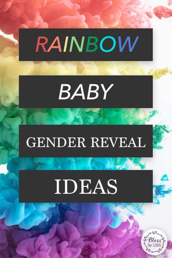 Rainbow baby gender reveal party ideas and inspiration for decorations, themes and more!