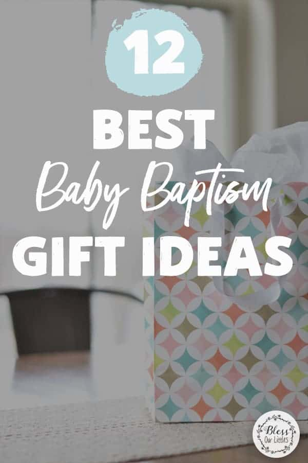 Unique baptism gift ideas