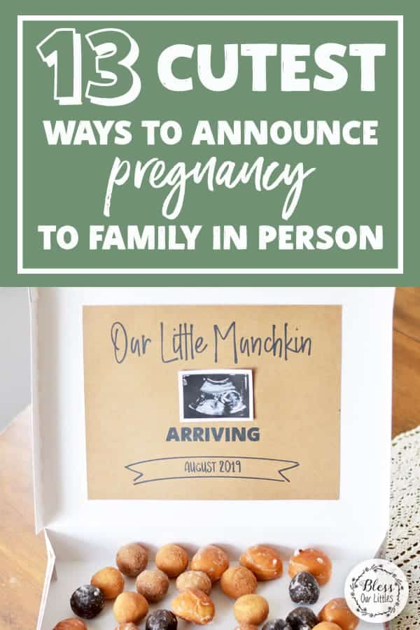 13 Cutest ways to announce your pregnancy to family