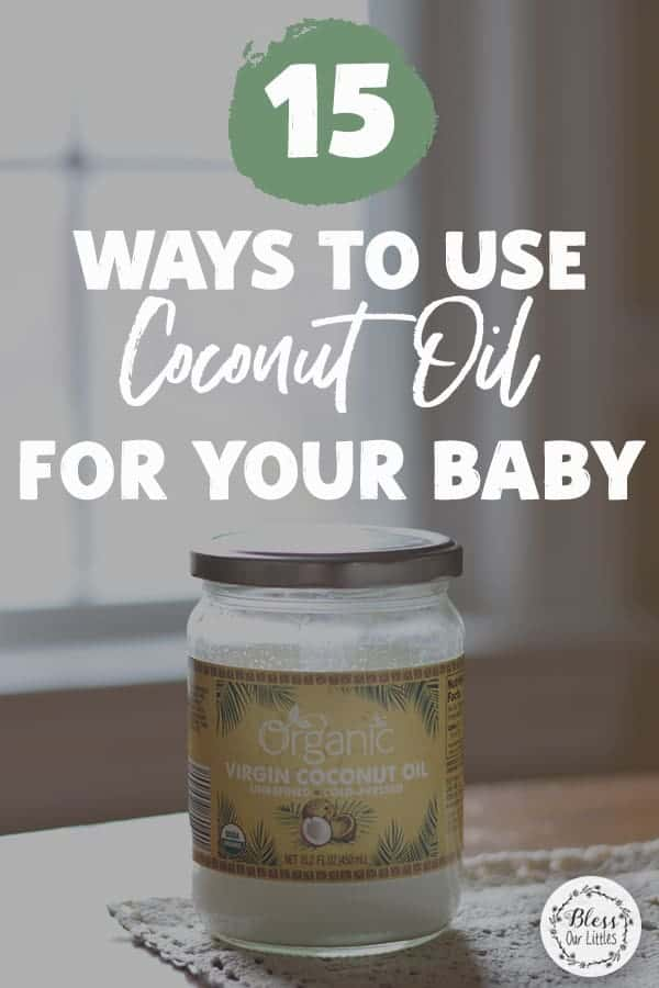 Ways to use coconut oil for your baby