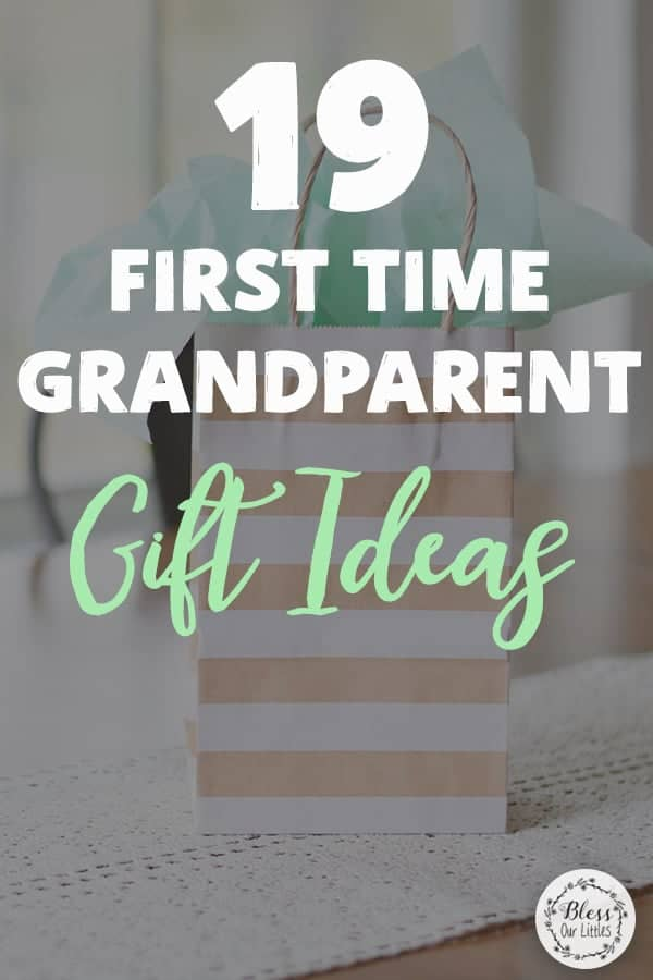 First time grandparent pregnancy announcement gift ideas