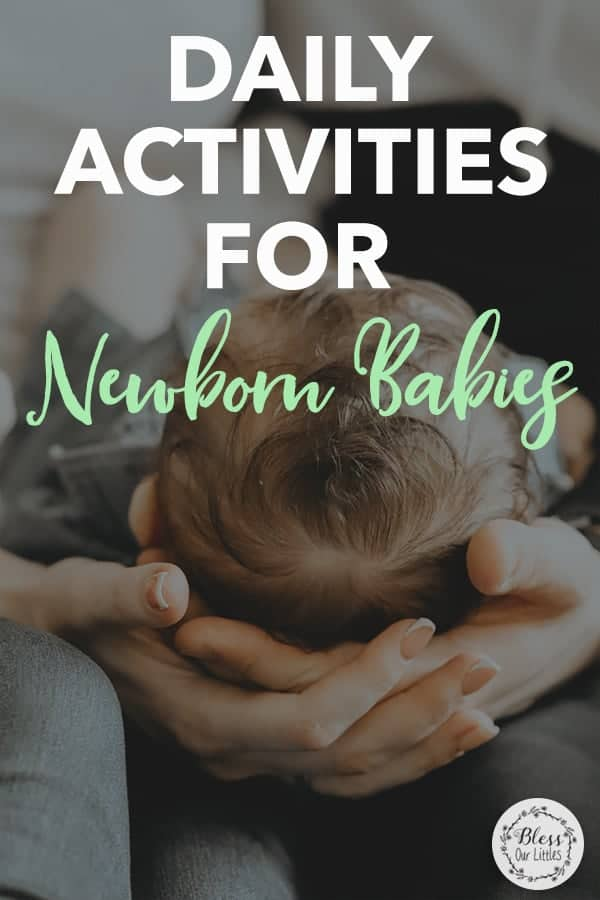 Daily Sensory Activities for Babies 0-2 Months