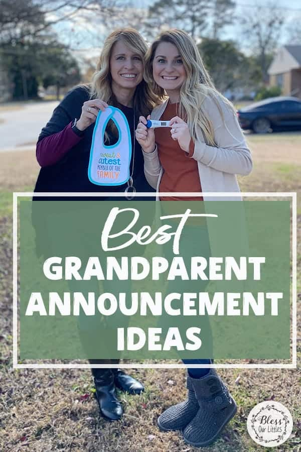 how to surprise grandparents with pregnancy announcement