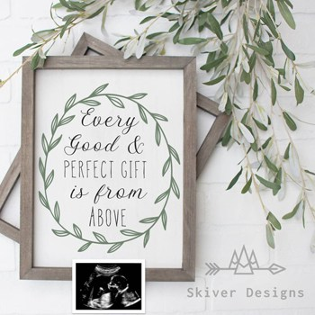 9 Bible Verses For Pregnancy Announcement - Signs, Cards or Social Post
