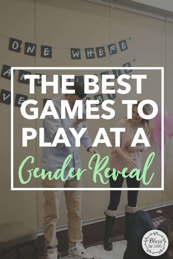 Gender Reveal Party Games and Activities
